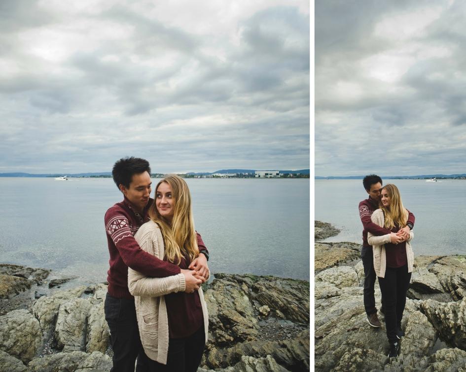 sesja w Oslo, sesja narzeczeńska w Norwegii, fotografia ślubna